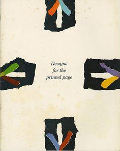 Leo Lionni (Designs for the Printed Page) #design #graphic
