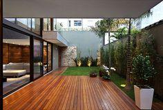 Luxury Vila Madalena with Smooth Indoor Decor dark wood timber outdoor floring