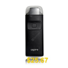 Original #Aspire #Breeze #Kit #650mAh #- #BLACK