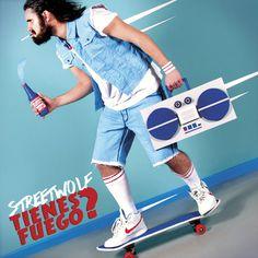 Streetwolf Tienes Fuego? (2013) #cover #record #direction #art