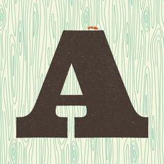 Más tamaños | A is for Ant | Flickr: ¡Intercambio de fotos! #typography