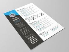 Estiak Resume - Free Creative Resume Template with Portfolio and Cover Letter
