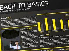 Back to Basics www.graphicriver.net/item/4-pages-brochure-trifold-flyer-business-card/3744520?ref=andre28 #print #graphic #template #layout #brochure
