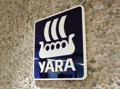 Grid Design » Branding in renovated floors #signage #yara #oslo