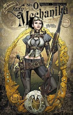 Lady Mechanika Comic by Joe Benitez | Cuded #benitez #comic #mechanika #joe #lady