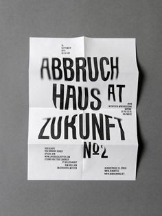 Larissa Kasper #print #design #graphic #typography