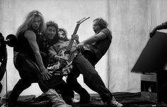 Norman Seeff - Van Halen - Photos - Social Photographer's Portfolios #inspiration #photography #portrait