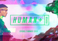 Consumer Industry Trend: Human + #logo #flouro #robot #glitch #technology #pink #montage #branding
