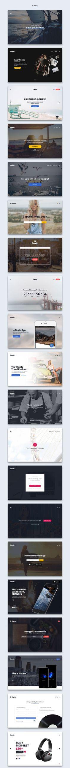 Capeto UI Web Kit
