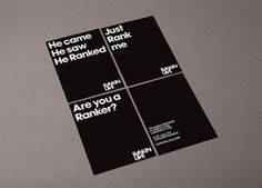 Rankin Live on the Behance Network #them #invite #white #themdesign #print #black #and #www