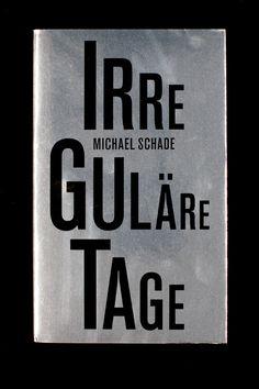 Irreguläre Tage #serif #sans #book #typography