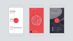 Espen Andersen Website & Audio Visualizer on Behance