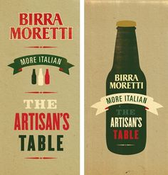http://www.newfuturegraphic.co.uk/birra-moretti/ #illustration #branding #typography
