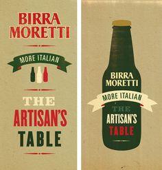 http://www.newfuturegraphic.co.uk/birra-moretti/ #illustration #branding #typography