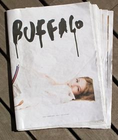 BUFFALO magazine on Illustration Served #booklet