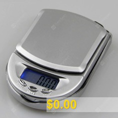 Mini #Jewelry #Scale #Electronic #Weighing #0.01g #Palm #Pocket #Scale #Portable #Electronic #Platform #Scale #- #200G/0.01G