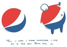 Lawrence Yang on New Pepsi Logo #fat #logo #pepsi