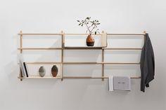 Foldin by etc.etc #interior #wood #shelf