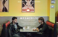 Horizontal poster for MESMERISE.