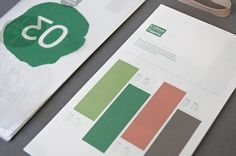 Above & Below on the Behance Network #print #graphic design #logo #branding #identity #trees #museum #museum of trees