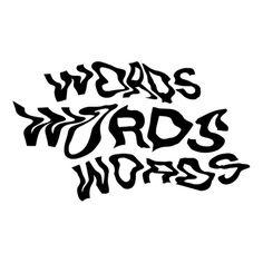 Typography, distorted, type