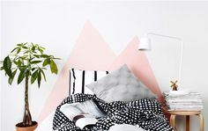 IKEA graphic minimalistic shapes in home furnishing