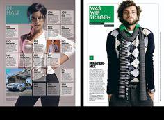 Modern Publicity #grid #layout #magazine