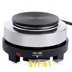 Mini #Electric #Stove #Coffee #Heater #- #BLACK