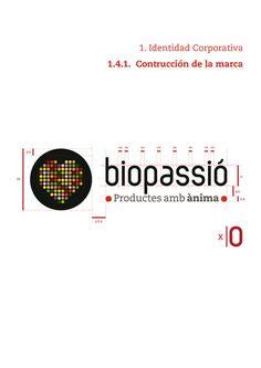 Biopassió, productos con alma #logo #graphic #identity #design