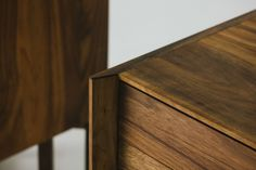 Chest Middle Meyer Fly Massive Millworks #chest #dresser #interior #wood #millwork #walnut #drawers #woodworking #modernism