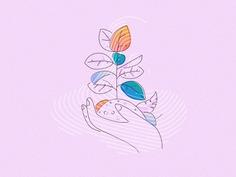 Flowering - Illustration by Jamesp0p / James Oconnell