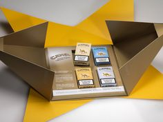 Camel Presentation Kits for new pack design etc on Behance #pack