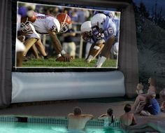 Inflatable Jumbo Tron Movie Screen #tech #flow #gadget #gift #ideas #cool