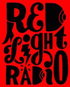 Red Light Radio #parra #typography