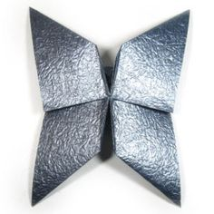 How to make an origami butterfly based on open sink-fold (http://www.origami-make.org/howto-origami-butterfly.php) #origami #butterfly #ori