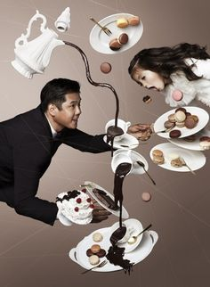 Gravity Defying Photography by NAM | 123 Inspiration #gravity #nam #trail #chocolate #photography