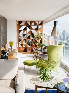 Search Ibirapuera Apartment – Mix of Contemporary and Brazilian Modern Classics