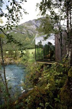 ISO50 Blog – The Blog of Scott Hansen (Tycho / ISO50) » The blog of Scott Hansen (aka ISO50 / Tycho) #mountain #house #woods #glass #forest