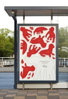 graphic design : . #dawn #amterdam #campaign #design #zoo #royal #viral #poster #artis