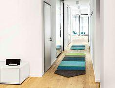 Patchwork Rug Collection by Werner Aisslinger free form area rug #rugs #carpets #flooring
