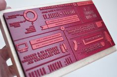 Emmadime #stamp #print