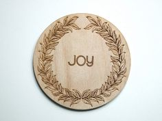 Personalised Wooden Coasters #engraved #laser #home #wood #illustration