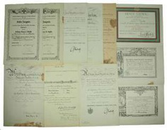 Hesse: deed estate of the commander of the infantry regiment
