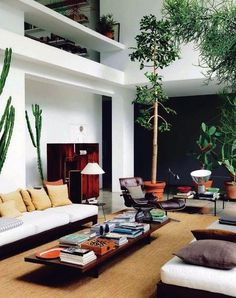 THE BROWN WORKSHOP #house #living room #plants