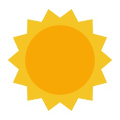 See more icon inspiration related to sun, summer, weather, warm, sunny, nature, holidays, meteorology and summertime on Flaticon.