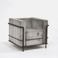 FFFFOUND! | dezeen » Blog Archive » Design Miami 2007 catalogue #chair #concrete