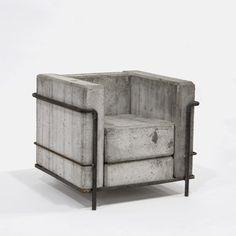 FFFFOUND! | dezeen » Blog Archive » Design Miami 2007 catalogue #chair #concrete