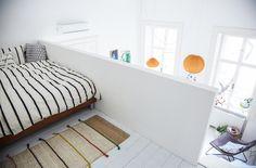 Mezzanine bedroom furnishing