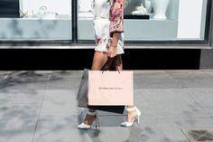 Kristina Snezhkova luxury fashion design branding corporate identity deluxe mindsparkle mag gold golden palm bag logo logotype pink black wh