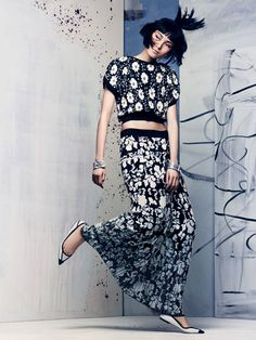 Xiao Wen Ju by Craig McDean for Vogue US #fashion #model #photography #girl
